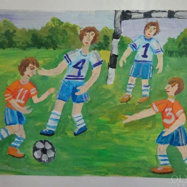 Футболтсты, Толстик Илья, 11 лет, ГУО СШ №200, г.Минск