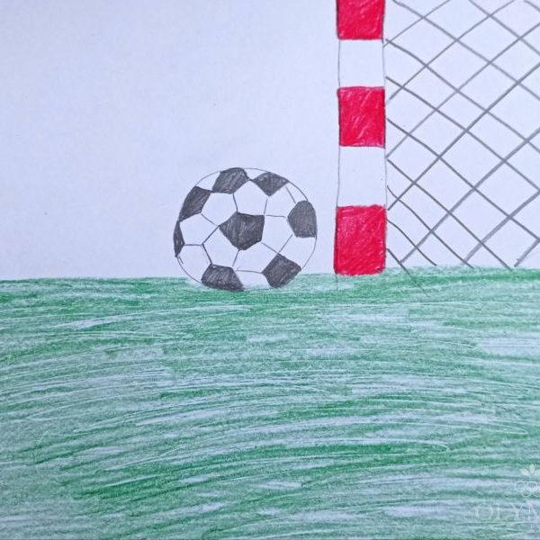 Футбол, Алиева Сабина, 7 лет, ГУО Центр творчества детей и молодёжи Железнодорожного района г. Гомель