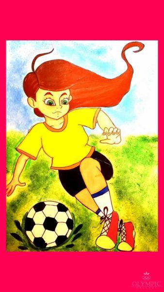 Футбол для всех, Шапочкина Анна, 14 лет, ГУО СШ №61, г.Гомель