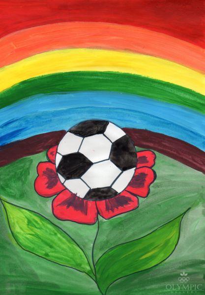 Футбол-это моя жизнь, Воспяков Никита, 6 лет, ГУО Учебно-педагогчический комплекс ясли-сад-начальная школа №6, г. Брест