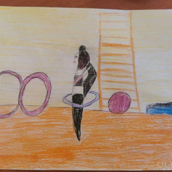 Гимнастка, Чичикова Виктория, 9 лет, ГУО Центр творчества детей и молодёжи Железнодорожного района г. Гомель