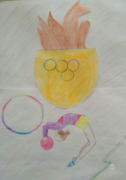 Нам покорятся олимпийские вершины, Прокопович Валерия, 7 лет, ГУО СШ №1, г. Осиповичи