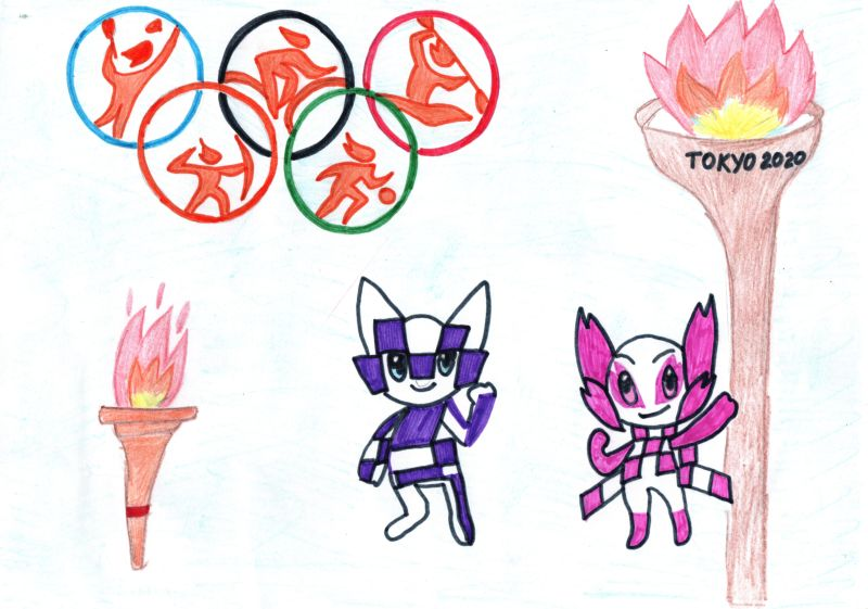 Олимпийские игры, Хмелькова Анна, 10 лет, ГУО Средняя школа №31 г. Гомеля