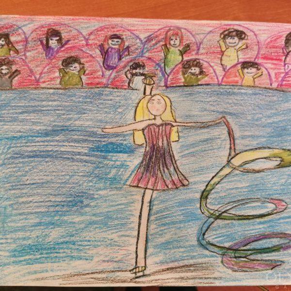 Фигурное катание, Ткачева Елизаветта, 10 лет, ГУО Центр творчества детей и молодёжи Железнодорожного района г. Гомель
