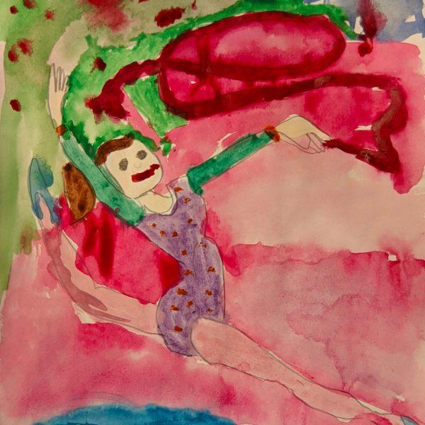 Маленькая гимнастка, Марусева Дарья, 6 лет, ГУО Лидский специальный ясли-сад №16 для детей с нарушениями зрения_result