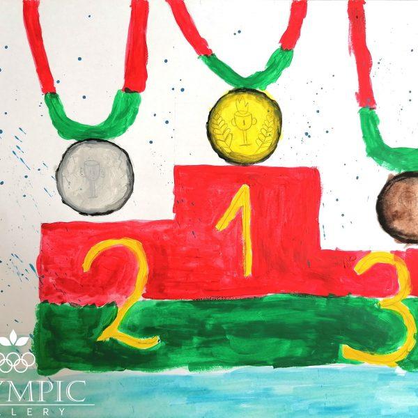 Олимпийские медали, Жуковская Каролина, 6 лет, ГУО Ясли-сад №17 г.Минска_result